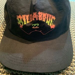 Billabong flat brim hat